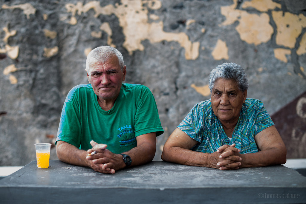 Retired couple in Madeira